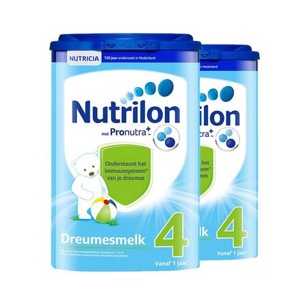 2罐装【荷兰】牛栏婴儿配方奶粉4段(12-24个月) 800g  万博Manbetx官网仓发货