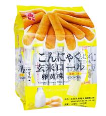 【台湾】北田 糙米卷卵黄味160g