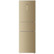 海尔(Haier) 冰箱三门风冷无霜智能双变频除菌节能静音家用冷冻冷藏225升一级能效 BCD-225WDGK