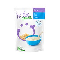2袋【澳大利亚】Bubs贝儿 有机婴儿米粉1段(4个月以上)125g/袋 万博Manbetx官网仓发货