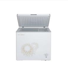 美的(Midea) BD/BC-197KMA 卧式单温一室冷冻冷藏冰柜转换单门顶开 家用商用冷柜