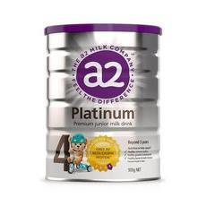 2罐裝【新西蘭】A2 白金版嬰幼兒配方奶粉4段 900g(3歲以上)900g/罐 (保稅倉發貨)