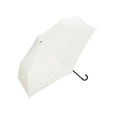 日本 WPC 蝴蝶結MINI防曬傘801-945 白色