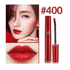 [法國]阿瑪尼Armani 唇釉紅管 6ml (#400)復古大紅(香港直郵)