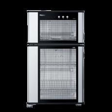 海尔消毒柜ZTD80-A专利光波巴氏物料消毒80升上下分室,可消毒奶瓶双重温控双重保护