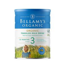 【澳大利亚】贝拉米 有机婴幼儿配方奶粉 3段(1岁以上) 900g (万博Manbetx官网仓发货)
